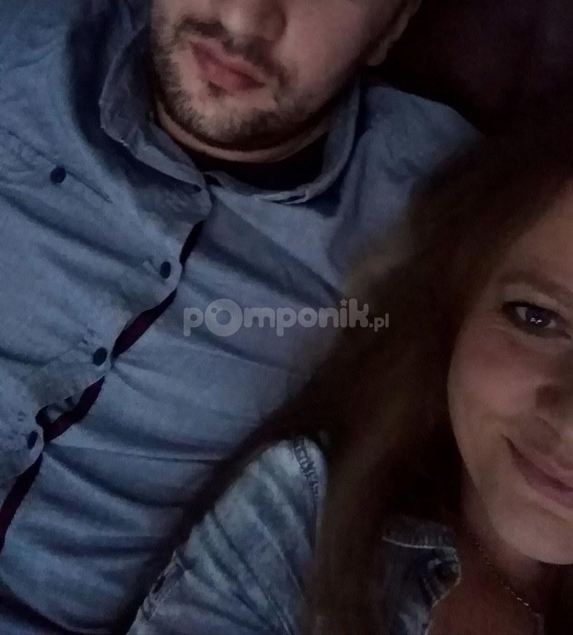 Anna Michalska z byłym partnerem /pomponik exclusive