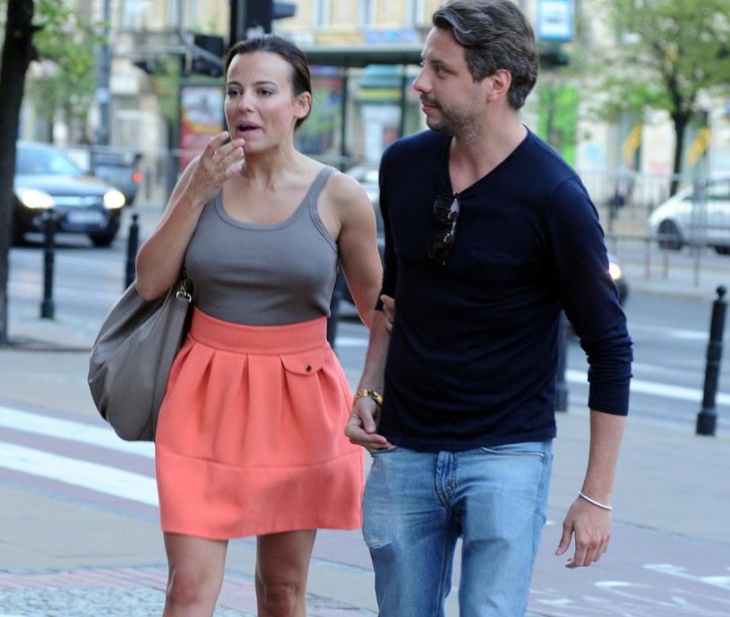 Anna Mucha i jej ukochany, Marcel Sora /Andras Szilagyi /MWMedia