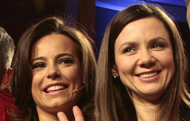 Anna Mucha i Kinga Rusin  /MWMedia