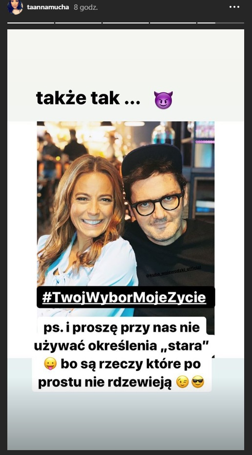 Anna Mucha and Kuba Wojewódzki in a meeting after many years! / Instagram / Anna Mucha / Instagram
