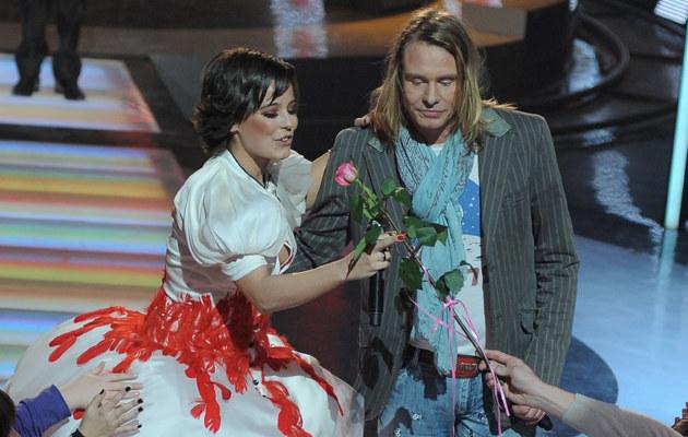 Anna Mucha i Rinke Rooyens, fot. Andrzej Szilagyi  /MWMedia
