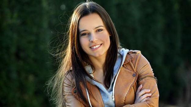 """Anna Mucha, jako Madzia, w """"M jak miłość"""" /MTL Maxfilm"""