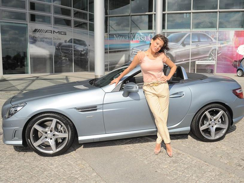 Anna Mucha  jest twarzą firmy Mercedes i obie strony do tej pory były zadowolone ze współpracy. Czy teraz to się zmieni? /Piotr Wygoda /East News