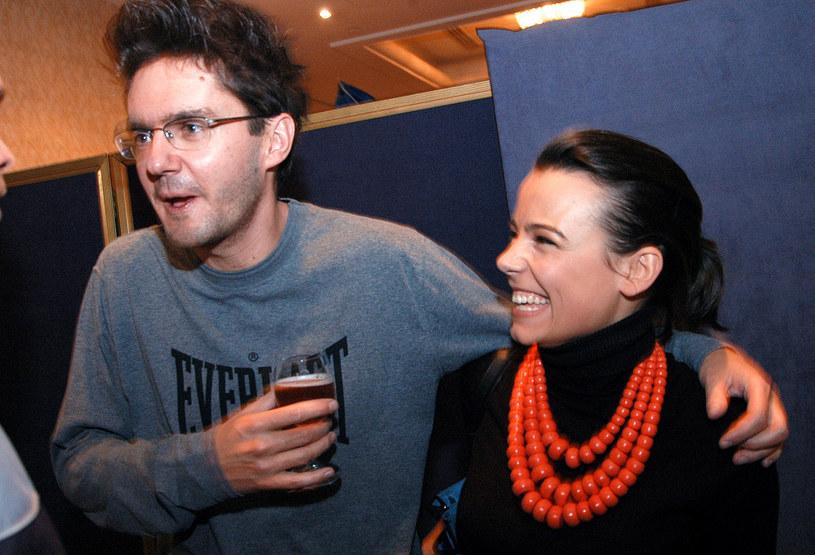 Anna Mucha, Kuba Wojewódzki, 2005 rok /Zawada /AKPA