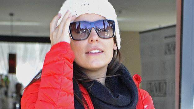 Anna Mucha na co dzień preferuje sportowy styl / fot. Mieszko Piętka /AKPA