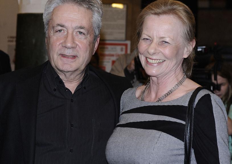 Anna Nehrebecka z mężem /Andras Szilagyi /MWMedia