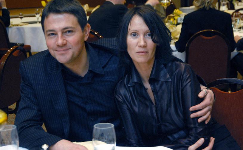 Anna Nowak-Ibisz, Krzysztof Ibisz, 2005 rok /Prończyk /AKPA