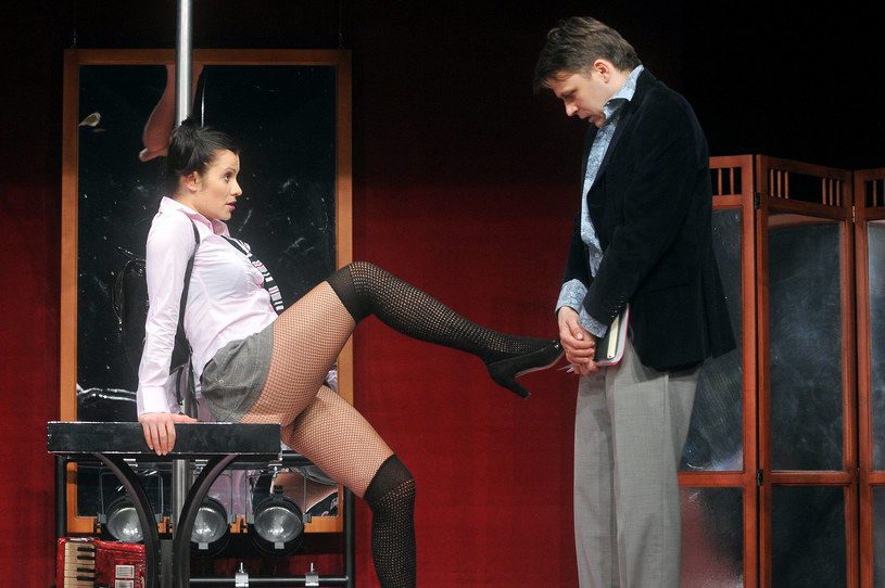 Anna Oberc na scenie /Kurnikowski /AKPA