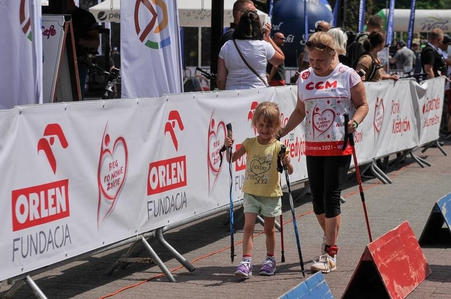 Anna Ogrodowicz z córką Hanią /Materiały prasowe