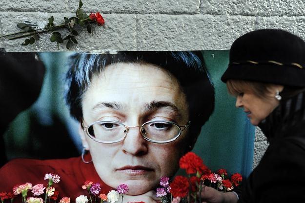 Anna Politkowska została zastrzelona w Moskwie /AFP