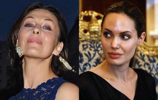 Anna Popek (Andras Szilagyi/MWMedia), Angelina Jolie (AFP) /MWMedia