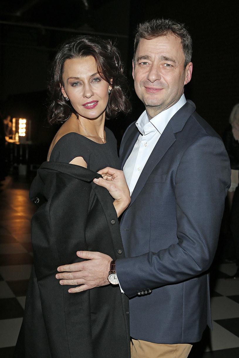 Anna Popek i Jacek Rozenek /Podlewski /AKPA