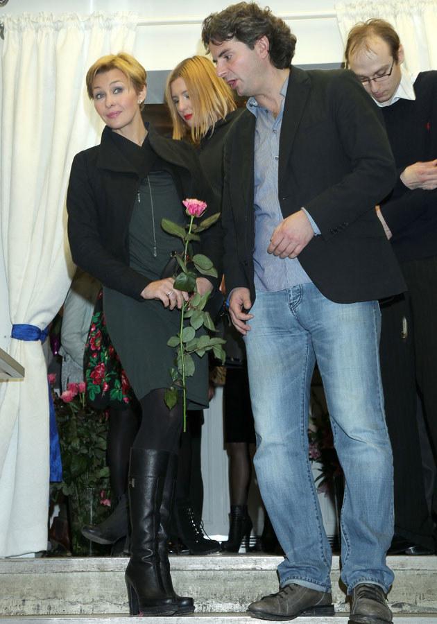 Anna Popek i Konrad Komornicki są razem szczęśliwi, ale nie spieszy im się do legalizacji związku /Paweł Wrzecion /MWMedia