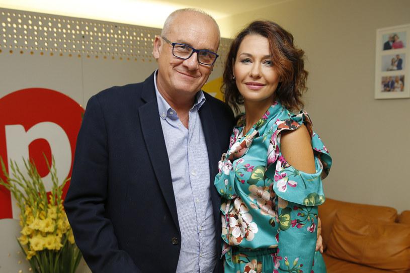 Anna Popek i Michał Olszański /Podlewski /AKPA