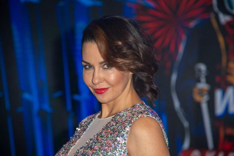 Anna Popek uwielbia tańczyć /Artur Zawadzki /Reporter