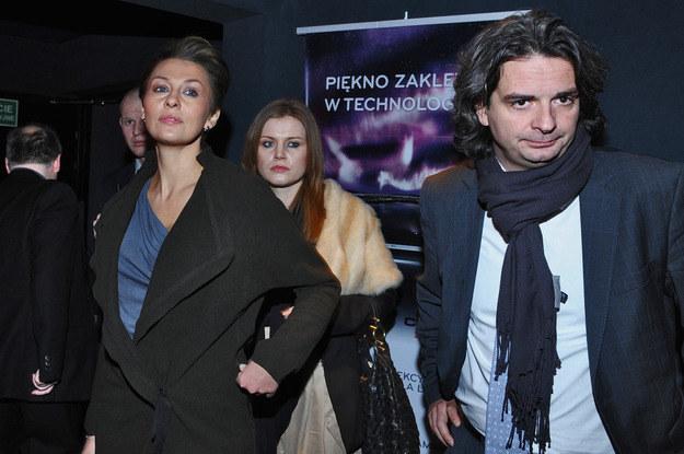 Anna Popek z bylym kochankiem /- /MWMedia