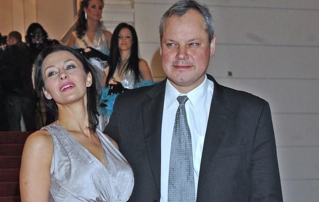 Anna Popek z byłym mężem /Szilagyi /MWMedia