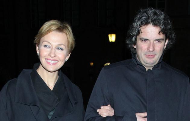 Anna Popek z partnerem /Paweł Wrzecion /MWMedia