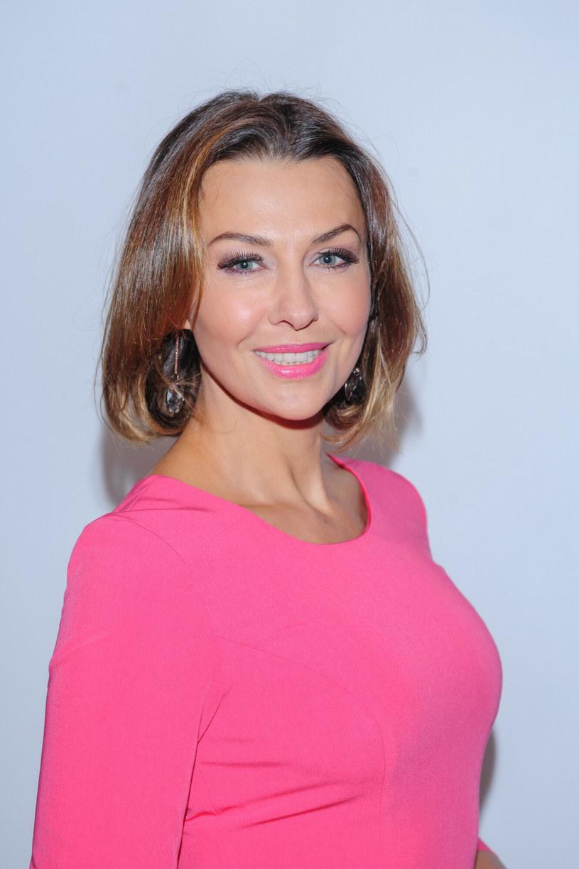 Anna Popek zakochała się w różowym odcieniu szminki /Tomasz Urbanek /East News