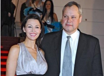 Anna Popek znowu z mężem/fot. Andreas Szilagyi /MWMedia