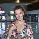 Anna Powierza na Mistrzostwach Polski Aktorów w Pływaniu