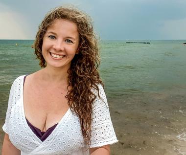 Anna Powierza: Pierwszy raz w Bałtyku