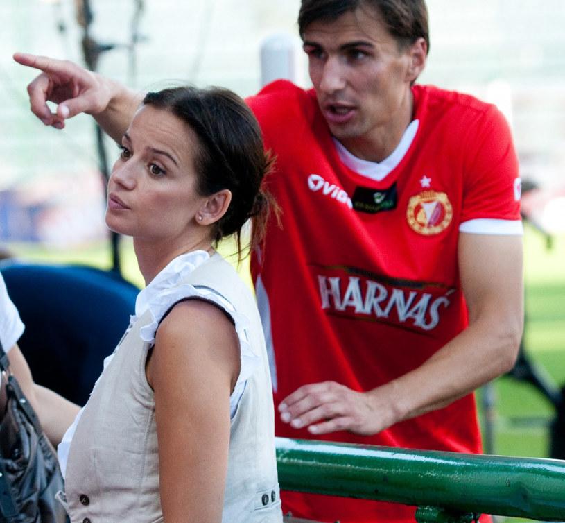 Anna Przybylska i Jarosław Bieniuk, 2010 r.