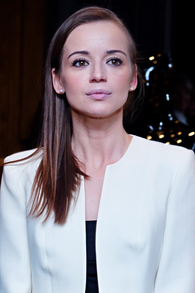 Anna Przybylska urodziła trójkę dzieci Jarosławowi Bieniukowi /Łukasz Dejnarowicz /Agencja FORUM