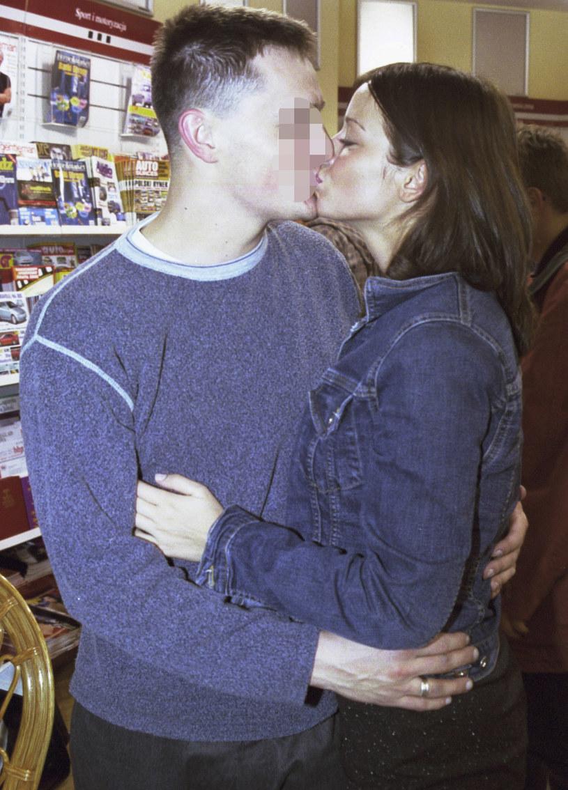 Anna Przybylska z byłym mężem Dominikiem /Rafał Meszka/Studio69 /Agencja FORUM
