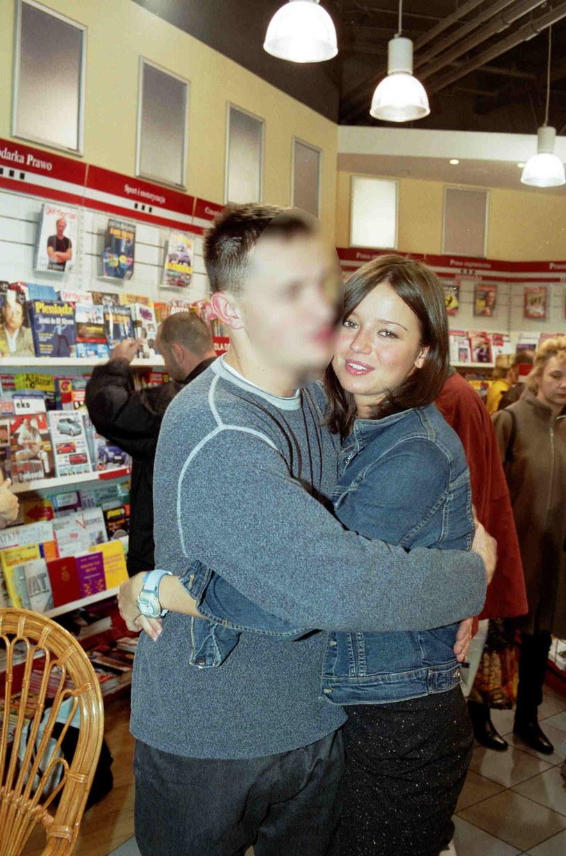 Anna Przybylska ze swoim jedynym mężem - Dominikiem /Studio 69 Rafał Meszka /Agencja FORUM