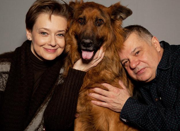 Anna Radwan, Paris i Krzysztof Globisz /Maciej Woźniak /INTERIA.PL