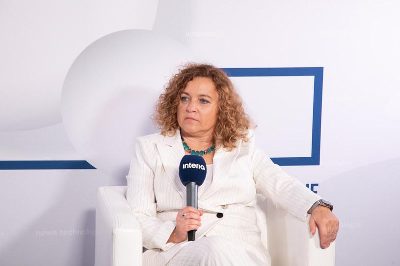 Anna Rulkiewicz, prezes Grupy Luxmed /Fot. Ireneusz Rek /INTERIA.PL