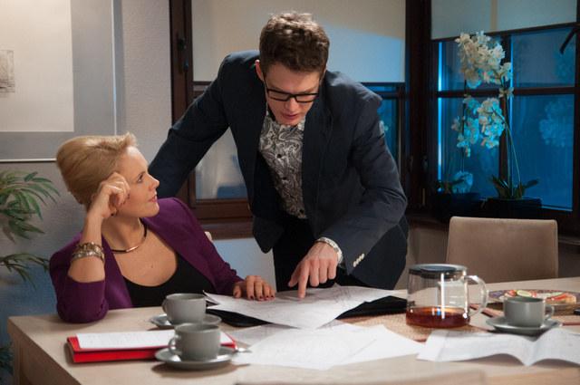 Anna Samusionek (Ilona Zdybicka) i Adam Fidusiewicz (Maks Brzozowski) /Agencja W. Impact