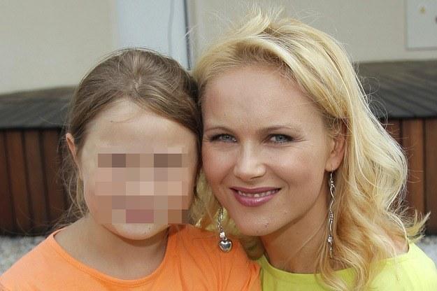 Anna Samusionek z córką Andżeliką /Engelbrecht /AKPA