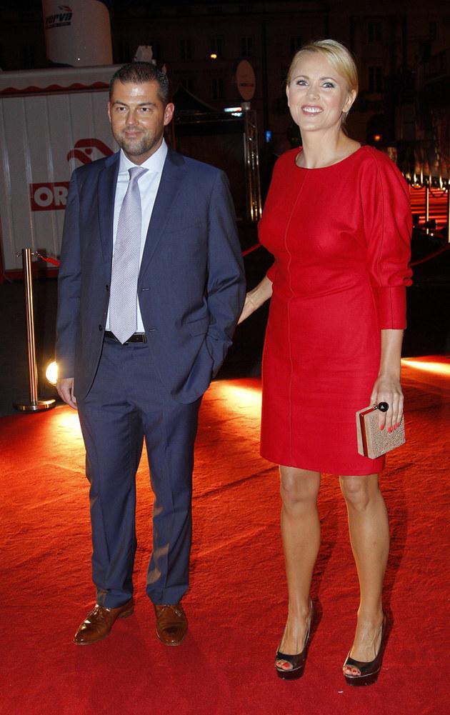Anna Samusionek z nowym partnerem /Engelbrecht /AKPA