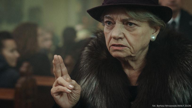 """Anna Seniuk jako Teresa w """"Małym Zgonie"""" /Bartosz Mrozowski /materiały prasowe"""