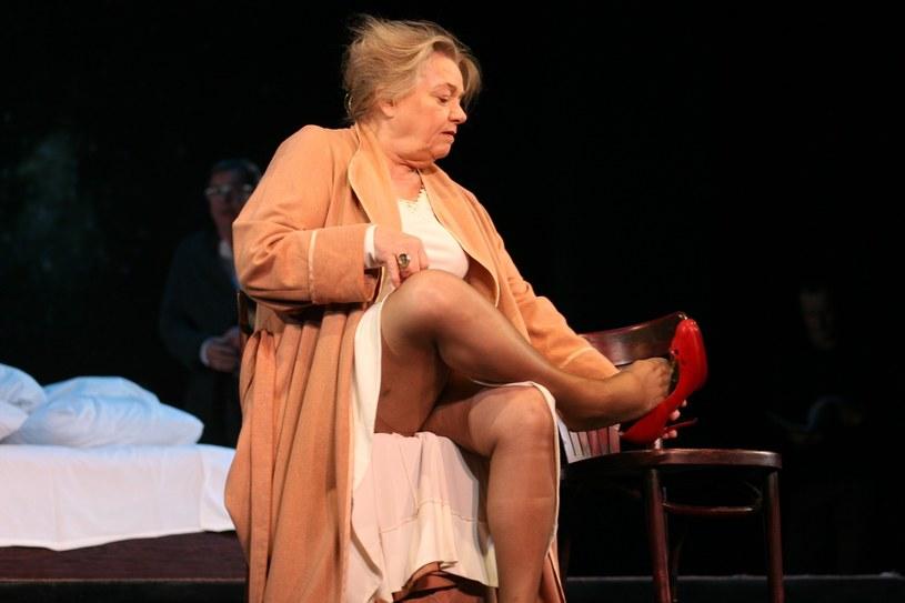 Anna Seniuk w Teatrze Narodowym, 2014 rok /Andrzej Wrzesiński /East News