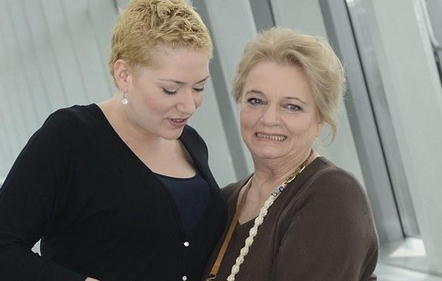 Anna Seniuk z córką /- /MWMedia