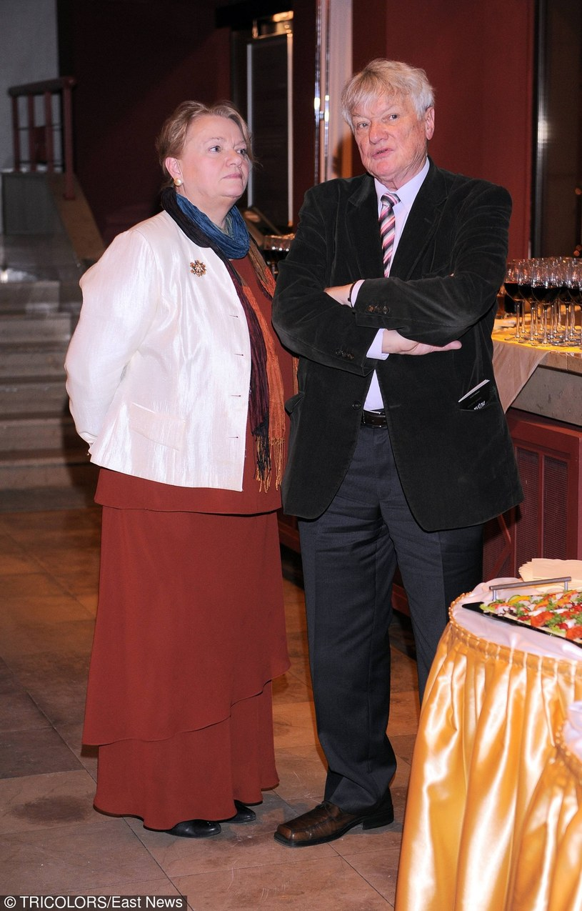 Anna Seniuk z mężem Maciejem Małeckim /Tricolors /East News