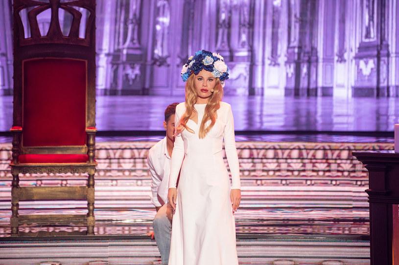 Anna Sieklucka jako Lana Del Rey /Polsat