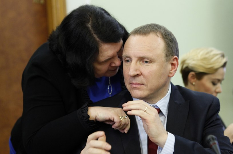 Anna Sobecka i Jacek Kurski /Stefan Maszewski /East News