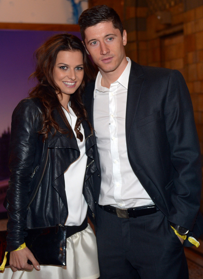 Anna Stachurska i Robert Lewandowski są już małżeństwem. /AFP