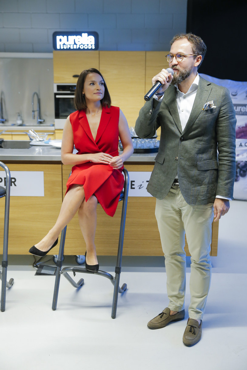 Anna Starmach i Artur Gajewski /Podlewski /AKPA
