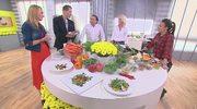 Anna Starmach i Michel Moran polecają sałatki idealne na jesień