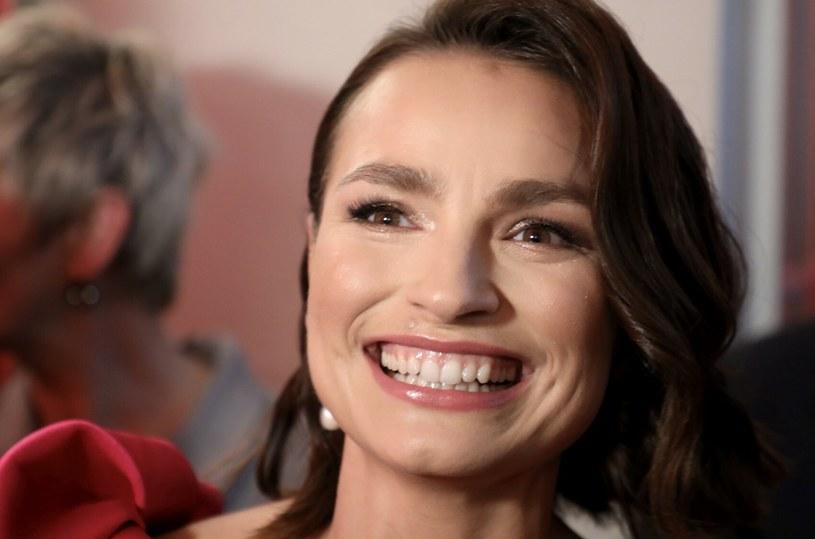 Anna Starmach na zdjęciu podczas Gali Telekamer Tele Tygodnia 2020 /Piotr Molecki /East News