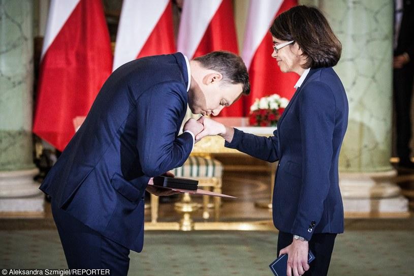 Anna Streżyńska i Andrzej Duda /- /East News