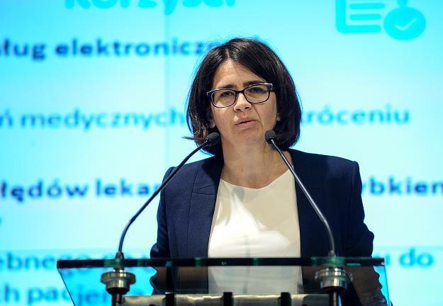 Anna Streżyńska, minister cyfryzacji /PAP