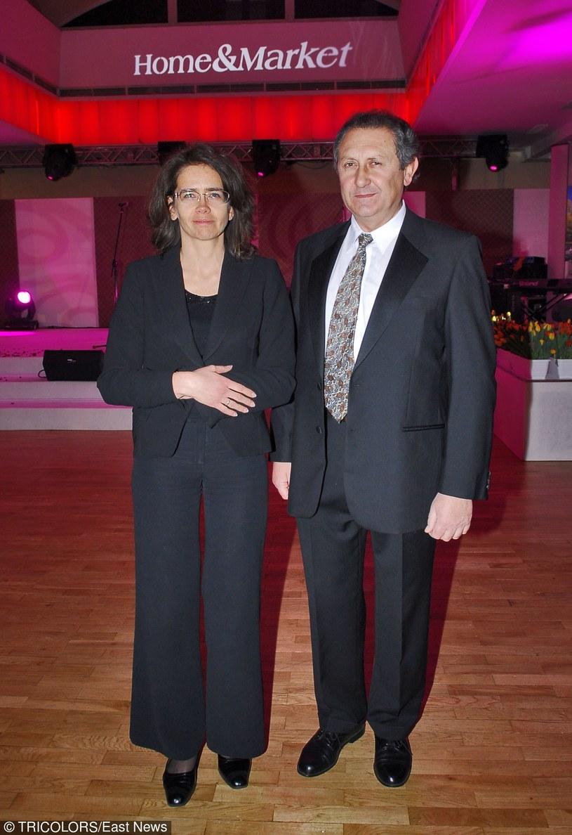 Anna Streżyńska z mężem /- /East News