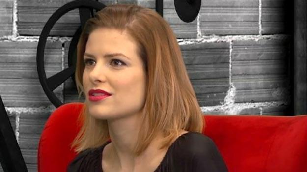 """Anna Szarek nie boi się rozmawiać na temat afery dot. filmu """"Last minute"""" /TVN"""
