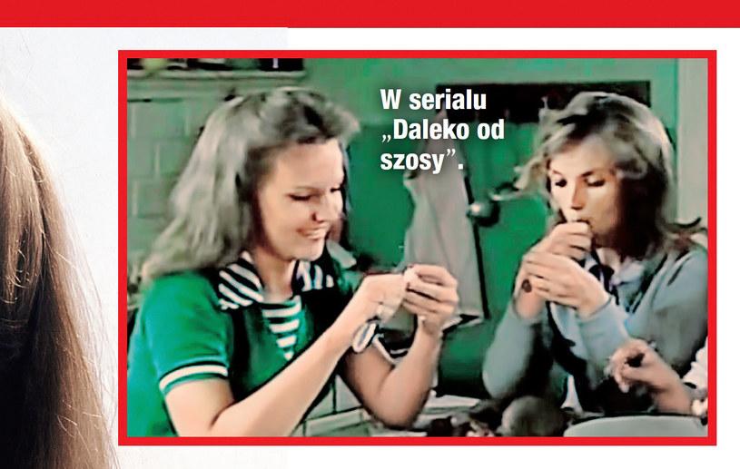 """Anna w serialu """"Daleko od szosy"""" /- /Dobry Tydzień"""